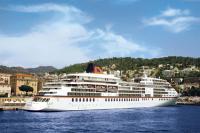 MS Europa an der Pier von Nizza / Foto: Hapag-Lloyd Kreuzfahrten
