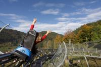 ... oder die Sommerbobbahn (Hasenhorn-Coaster) nutzen ..................