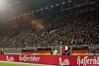 Bandenwerbung von Hasseröder Bier im Fußballstadion / Bildquelle: Anheuser-Busch InBev