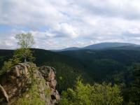 Blick zum Brocken im Nationalpark Harz / Foto: Stefan Sabotta