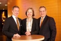 Christoph Glaser, Dagmar Mühle und Sven Beissel / Bildquelle: Grayling PR