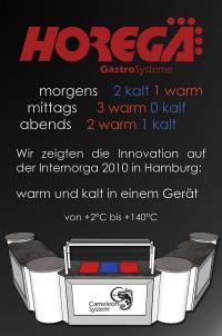 Innovative Gastrotechnik: Kalte bzw. warme Platten oder Wannen in einem Gerät