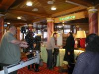 Klappe die 1.te: Drehtag im Hotel Bayerischer Hof Rimbach