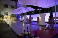 Die Eisstockbahn auf der Dachterrasse des Münchner Hotels Cristal / Bildquelle: Beide Jurga Graf