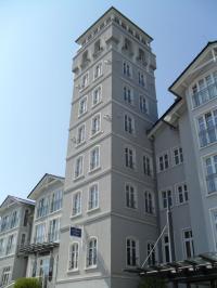 Der Turm des Hotel Hanseatic Rügen / © Sascha Brenning - Hotelier.de