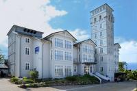 Das Hotel mit Blick auf die Ostsee / Bildquelle: Hotel Hanseatic Rügen & Villen