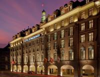 Hotel Schweizerhof Bern Ansicht bei Nacht; Bildquellen Righetti & Partner GmbH