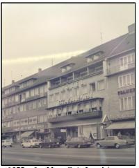 Das Hotel Tiefenthal in Hamburg im Jahr 1975, Quelle Hotelarchiv