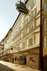 Der Eingangsbereich in der Getreidegasse / Copyright: Hotel Goldener Hirsch, Salzburg
