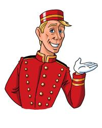 Der Hotelpage; Bildquelle HSI Hotel Suppliers Index Ltd.