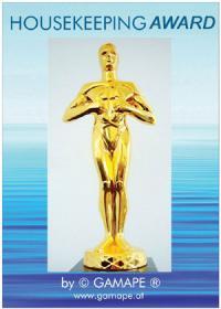 Der Housekeeping Award von ©GAMAPE®