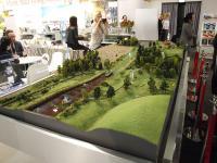 Schöne Idee: Eine Miniaturlandschaft auf einem Stand in der polnischen Halle / Alle Bilder: © Sascha Brenning - Hotelier.de