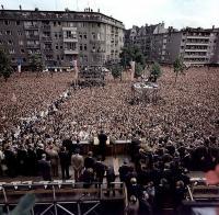 J. F. Kennedys Rede vor dem Schöneberger Rathaus; John F. Kennedy