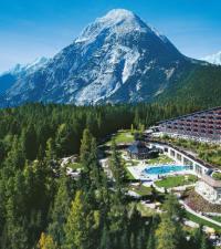 Interalpen-Hotel Tyrol: Luftansicht, Bildquelle success pr