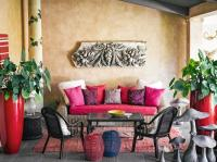 © LARS BOLANDER - Interior Design & Inspiration, Exotic terrace in tropical