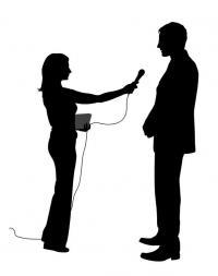 Symbolbild Interviewer