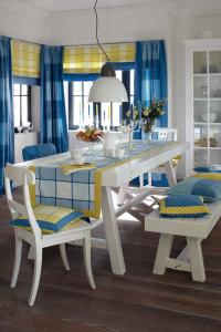 Tischwäsche Blau / Bildquelle: JAB JOSEF ANSTOETZ KG