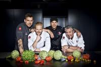 Andreas Schweiger, Nils Egtermeyer, Ole Plogstedt und Frank Oehler / Foto © RTL II - Severin Schweiger