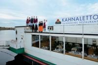Das freundliche und kompetente Kahnaletto-Team sorgt dafür, dass der Spaß im Haus nicht zu kurz kommt