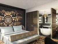 Eine Suite im Kameha Grand Zürich, gleichzeitig für alle Fotos Bildquelle
