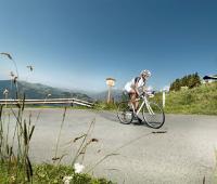 Bikerin am Kitzbüheler Horn / Bildquelle: Beide Kitzbühel Tourismus