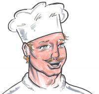Koch Bilder Comic von Hotelier.de - kostenlos herunterladen und Copyright © HSI Hotel Suppliers; über eine Nachricht würden wir uns freuen!Index Ltd vermerken!