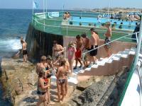 Beachclub Malta, Bildquelle LAL Sprachreisen