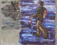 Leander Kresse: Six days on the road II; Bildrechte Petra Köhler Galerie Gegenwart