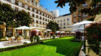 Der Garten des Luxushotels