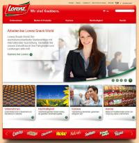 Screenshot von neuer Website / Bildquelle: The Lorenz Bahlsen Snack-World GmbH & Co. KG Germany
