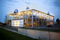 Temporärhalle Palas von außen / Bildquelle: Losberger GmbH