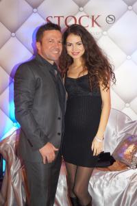Exklusive Gäste im STOCK resort: Lothar Matthäus und Anastasia