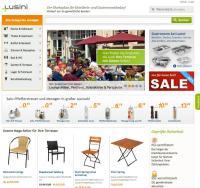 Screenshot der Lusini-Website / Bildquelle: Lusini GmbH