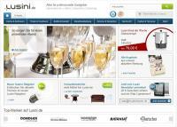 Screenshot der Startseite von Lusini.de / Bildquelle: Lusini GmbH