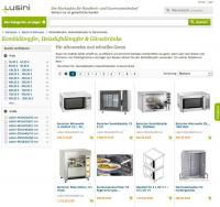 Beispiel der Kategorieseite auf Lusini.de / Bildquelle: Lusini GmbH