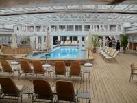 Das 'Lidodeck' auf dem weltweit einzigen 5-Sterne-plus* Kreuzfahrtschiff MS Europa