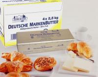 Die handliche 2,5 kg Stange Deutsche Markenbutter