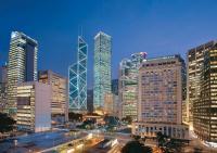 das Mandarin Oriental, Hong Kong bei Nacht. Bildquelle Mandarin Oriental