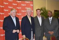 Denis O´Brien, Bill Clinton, Arne Sorenson,  Dr. Garry Conille / Bildquelle: Marriott International