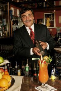 Herr Mattia im Best Western Queens Hotel Karlsruhe Elio's Bar