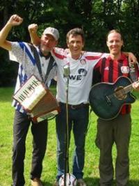 Dirk Gläßner (Mitte) mit Band