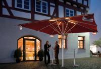 May Schirme, inkl. Heizung und Beleuchtung, Bildquellen May Gerätebau GmbH