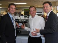 Michael Gliss mit Martin und Rudolf Lacher, Bildquellen Lacher Großküchen GmbH