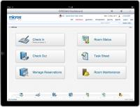 Opera 9 auf einem iPad / Copyright by MICROS-FIDELIO GmbH