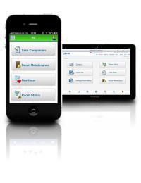 Und so sieht OPERA mobile auf einem Smartphone aus