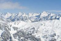 Schneelandschaft im Montafon