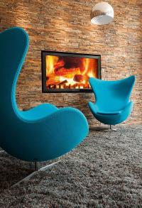 Motel One Egg Chair, Bildquelle Motel One