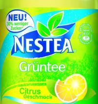 Neuer Süßstoff aus der Steviapflanze versüßt Eistee NESTEA Grüntee-Citrus