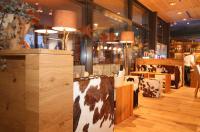 Restaurantbereich vom INNs HOLZ