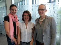 v.l.: Anne Otto (Teamleader Mystery Shopping), Daniela Fuchs (Marketing Coordinator) und Lena Posnien (HR & Office Administration Coordinator); Bildquelle IFH